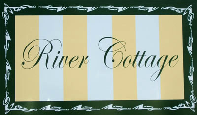 River Cottage sign