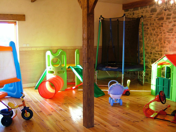 indoor play area for tots
